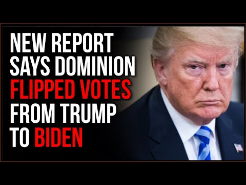 Dominion Voting Machine Report Says Michigan Votes INTENTIONALLY FLIPPED From Trump To Biden