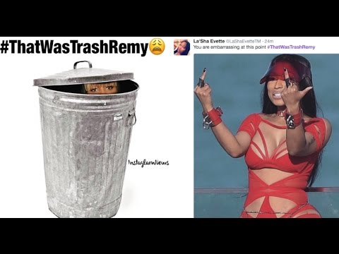Remy Ma Released Another Nicki Minaj Diss Track...And Got Dragged All Over Social Media