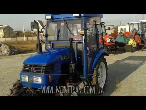 Замена масла в минитракторе Dongfeng DF 244 и краткий отзыв
