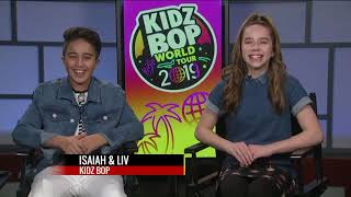 FOX 2 9AM KIDZ BOP PREVIEWS THEIR WORLD TOUR