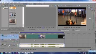 Как открепить аудио дорожку от видео в Sony Vegas Pro(Отсоединяем видео поток от аудио для дальнейшей работы с их частями. Сони Вегас Про 10., 2014-06-07T13:14:28.000Z)