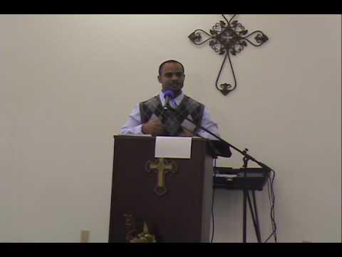 Pastor Roy C. Irving, Jr. preaching
