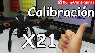 Manual BAYANGTOYS X21 En Español Calibración y Especificaciones, ba...