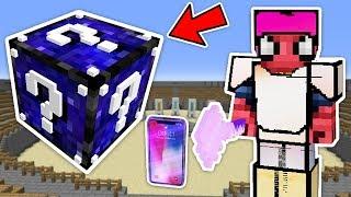 GERÇEK HAYAT ŞANS BLOKLARI CHALLENGE - Minecraft
