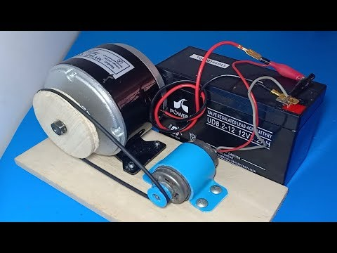 Free energy generator 2019 , How to make free energy from DC motor , wow amazing idea 2019