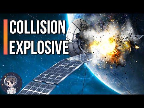Une collision EXPLOSIVE ! - Le Journal de l'Espace #98 - Actualité Spatiale