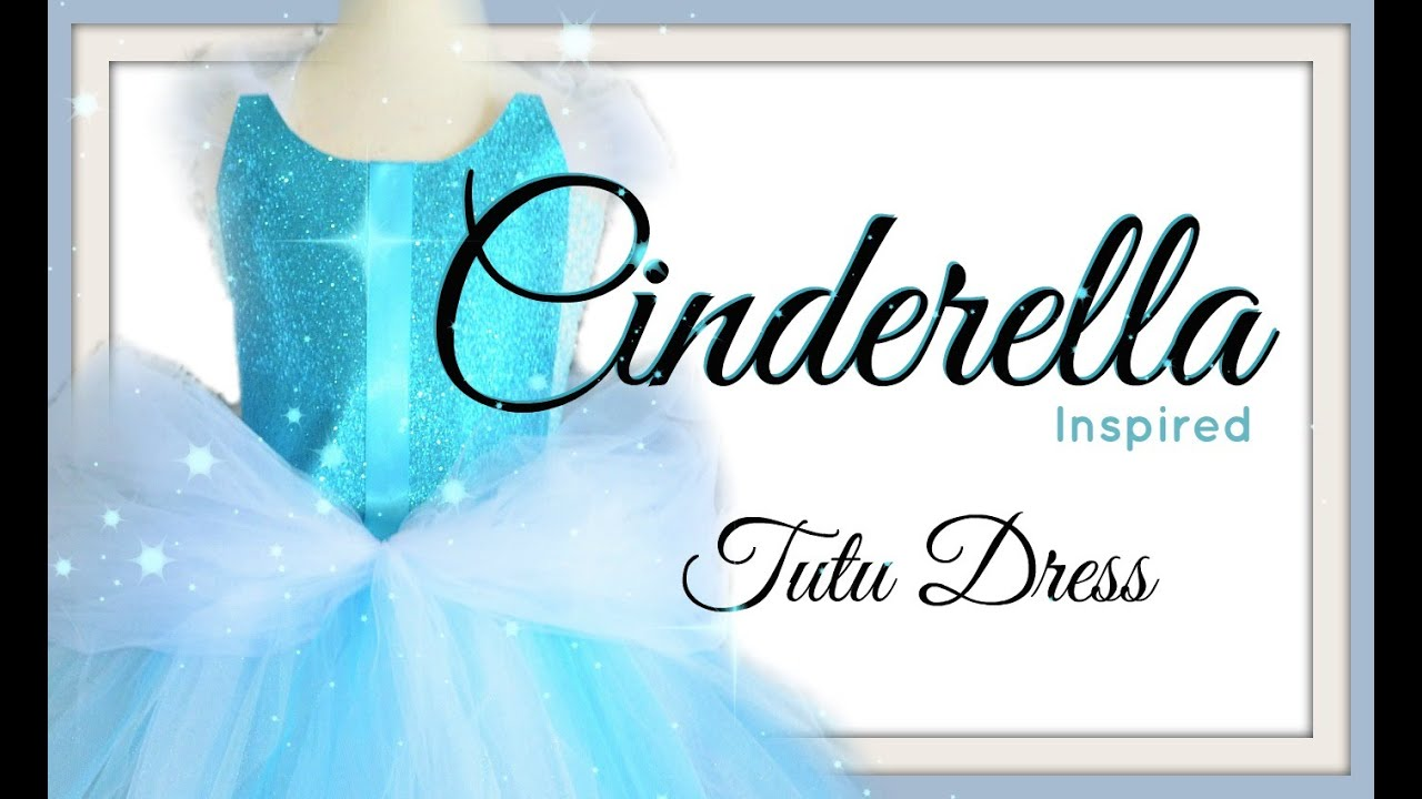 Cinderella tutu dress diy youtube solutioingenieria Images
