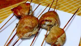 Шашлык из курицы в духовке к праздничному столу