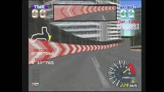 "ALZERI Speedruns: Ridge Racer Revolution, Novice Race using GALAGA CARROT (2'28""192)"