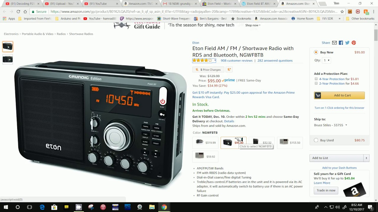 de28cc0d227 TRRS #1356 - Need Help - Eton Field Radio With Bluetooth - YouTube