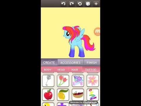 Как сделать несколько пони в пони креаторе
