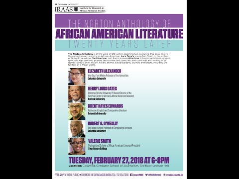 THE NORTON ANTHOLOGY OF AFRICAN AMERICAN LITERATURE: TWENTY YEARS LATER