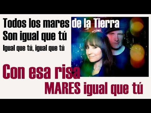 MARES IGUAL QUE TÚ Con LETRA 🎶 - Amaral