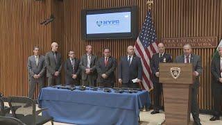 Web Extra: NYPD Announces Gun Arrests