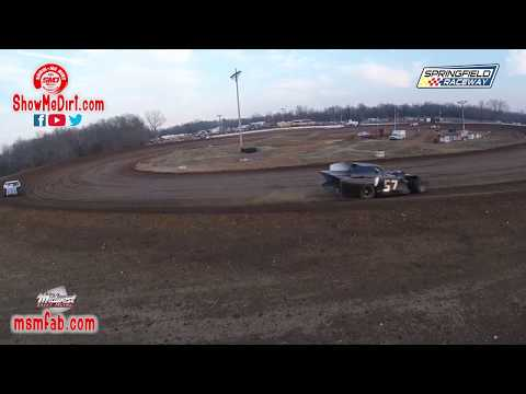 Full turn 4 Springfield Raceway 03-07-2020 Dirt Track Racing  🏎