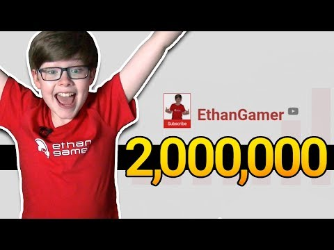 TWO MILLION SUBSCRIBERS! SUB COUNT + REACTION!