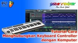 Tutorial Cara Menghubungkan Keyboard Controller Dengan Komputer