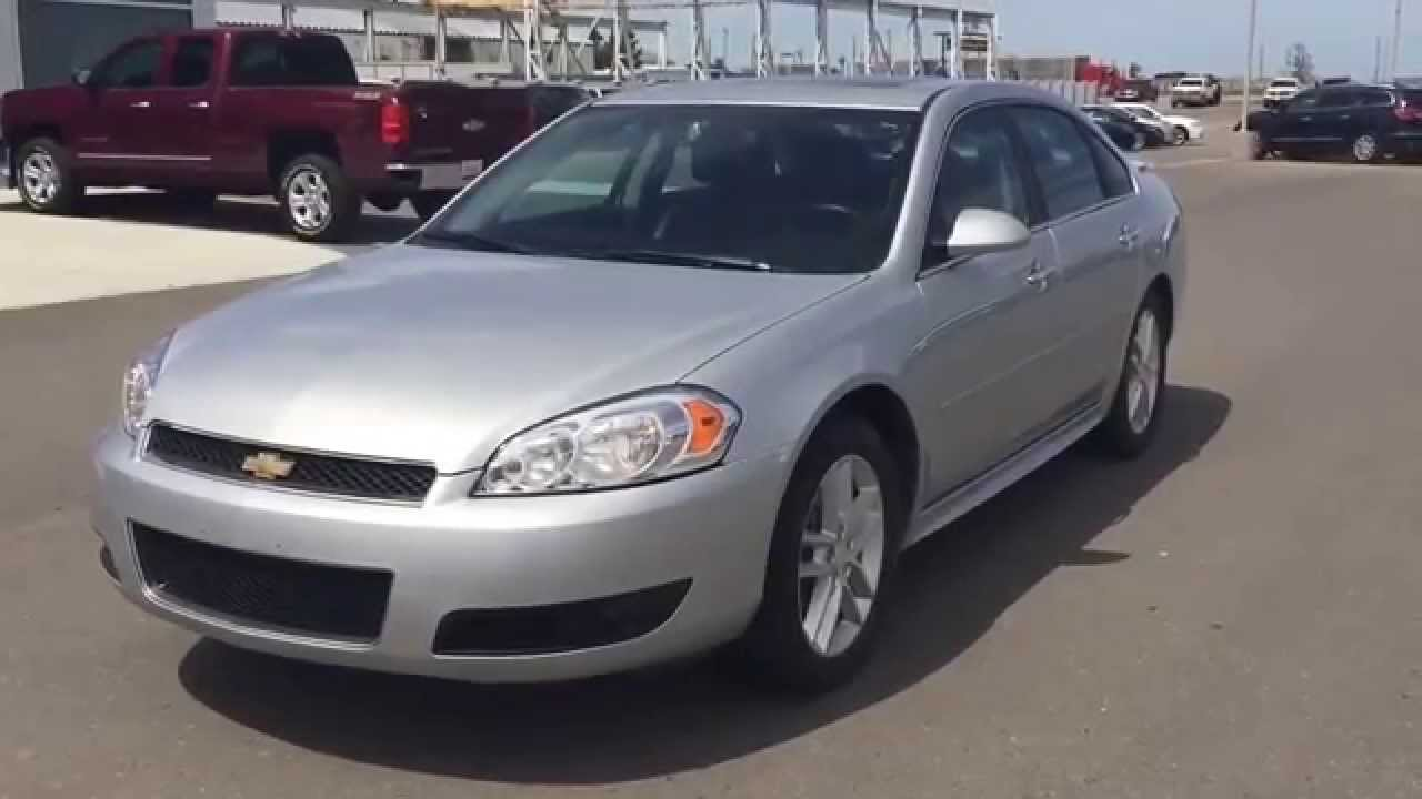 Silver 2012 Chevrolet IMPALA LTZ Sedan at Scougall Motors in Fort ...