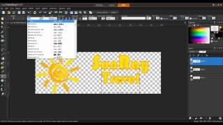 Creating a Website Banner in PaintShop Pro X5