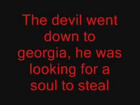 The Devil Went Down To Georgia - Charlie Daniels Band (Lyrics)