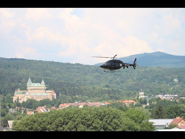 De? polície, armádnych a záchranných zložiek 2018 - Letisko Prievidza
