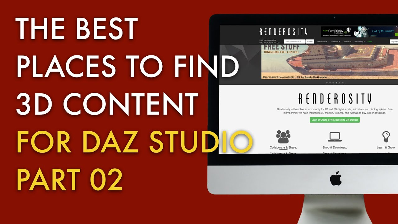 The Best Places to Find 3D Content for DAZ Studio - Renderosity