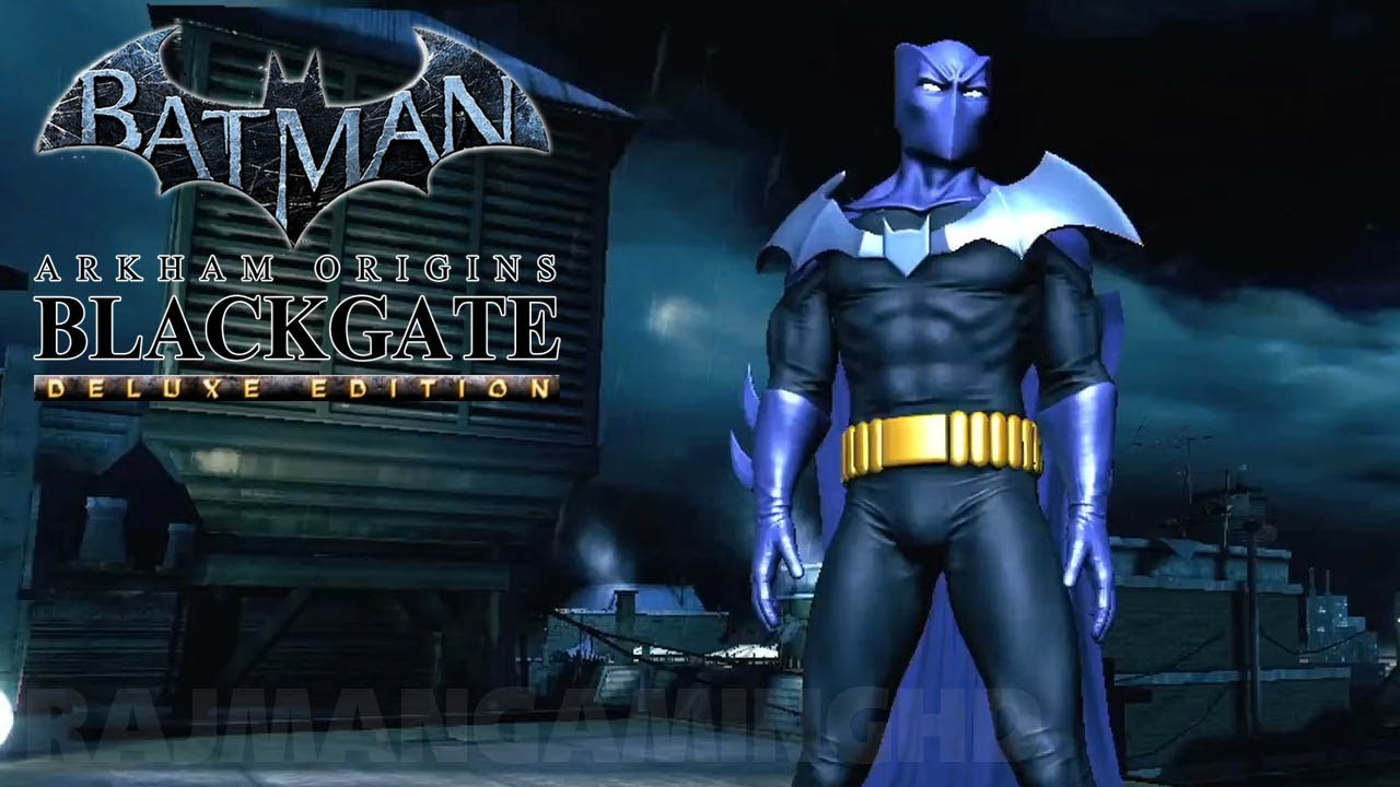 Batman: Arkham Origins Blackgate Deluxe Edition - Announce ...