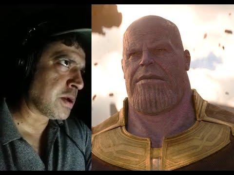 Ninad Kamat Dubbing Thanos in Hindi   Avengers Infinity War Hindi Dubbing  Artist