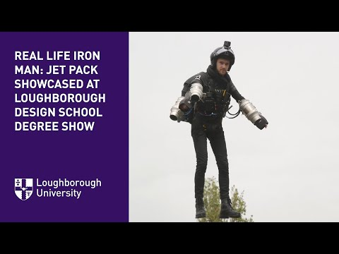 Real life Iron Man: Jetpack showcased at Design School Show