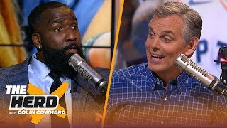 Kendrick Perkins says KD should play if healthy & Magic's comments on Lakers | NBA | THE HERD