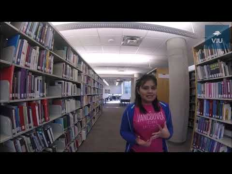 Libary Tour - Vancouver Island University International - WorldVIU