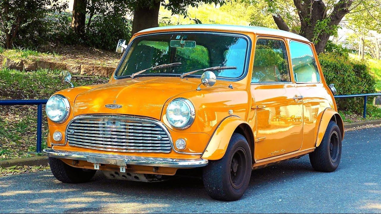 1991 Classic Mini Cooper Mk1 Conversion Japan Auction Purchase