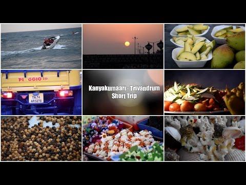 Kanyakumari - Trivandrum short Trip