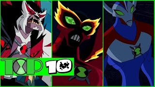 TOP 10 - Aliens Supremos de BEN 10