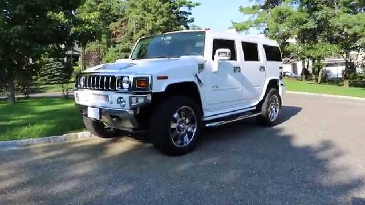 sold 2008 hummer h2 luxury for sale white sedona 1 owner 30 667 miles fantastic youtube. Black Bedroom Furniture Sets. Home Design Ideas