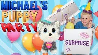 Puppy Surprise Party!