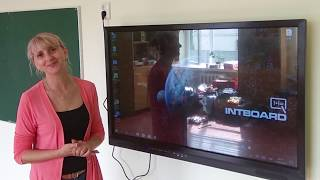 #Интерактивная сенсорная панель Intboard. Видео отзыв.