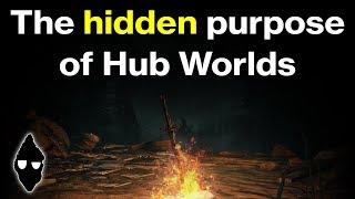 The Hidden Purpose of Hub Worlds