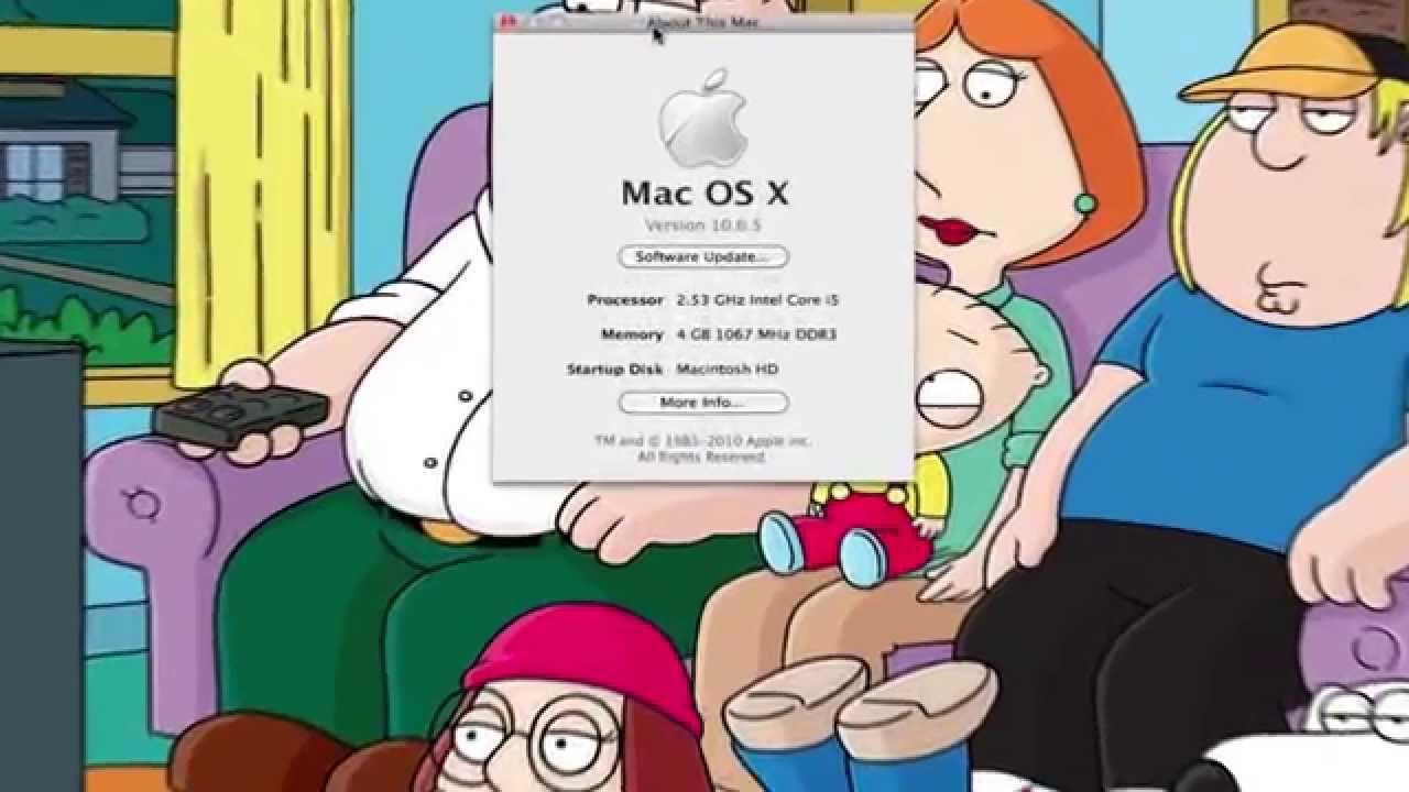Apple mac os x 10. 6. 5 (mac) download.