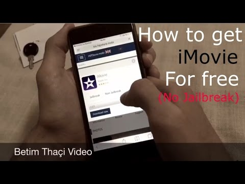 How to get iMovie for free (No Jailbreak) - YouTube