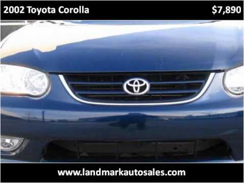 2002 toyota corolla used cars west chester pa youtube. Black Bedroom Furniture Sets. Home Design Ideas