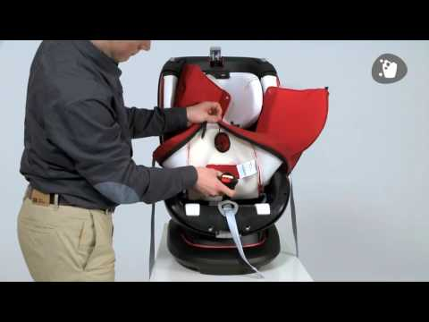 Maxi Cosi Rubi Car Seat   How To Remove And Replace The Cover