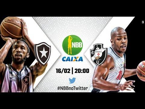 Botafogo 87 x 94 Vasco | 16.02.2018 | #NBBnoTwitter