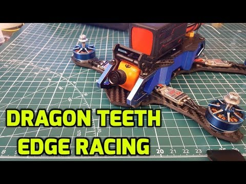 How to Build FPV Freestyle Quadcopter Part 2 // Dragon Teeth, Edge Racing, XSRF4O, DYS Aria