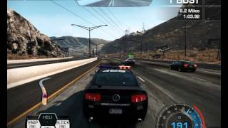 Need For Speed Hot Pursuit Point of Impact Cop Shelby GT500