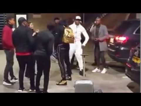PAUL POGBA Crazy Dancing in Amsterdam