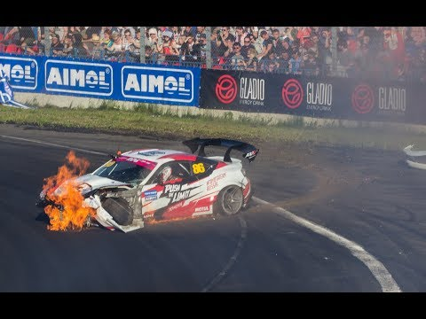 Авария Аркадия Цареградцева на RDS GP в Сочи