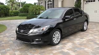 2014 Honda Accord EX L Sedan Review and Test Drive by Bill - Auto Europa Naples