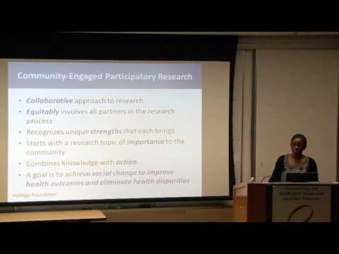 """Community Engagement & Translational Research"""
