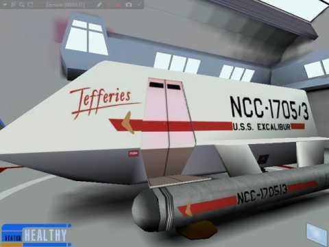 Virtual Tour of Starship Enterprise-NCC-1701